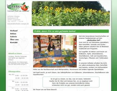 Der Gemüse- und Obsthof in Leichlingen