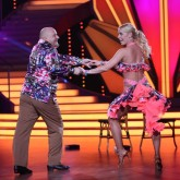 Let´s Dance: Detlef Steves und Isabel Edvardsson.