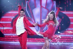 """""""Let's Dance"""" - Victoria Swarovski und Erich Klann."""
